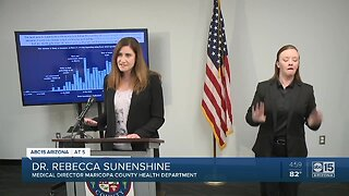 Maricopa County officials say social distancing is working
