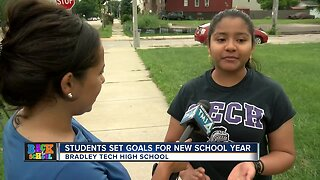 MPS students set goals for new school year