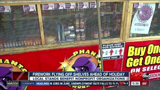 Firework sales booming this year