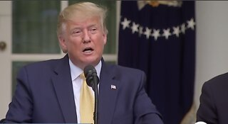 President Trump addresses census citizenship question at Thursday news conference