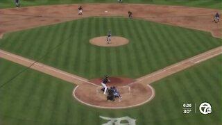 Miguel Cabrera doubles in Tigers spring win