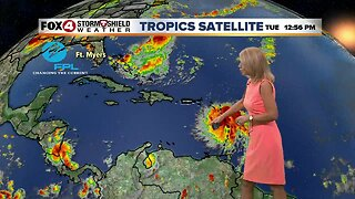 Showers and storms expected again Wednesday in Southwest Florida