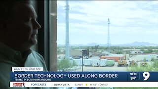 Border technology used along Southern Arizona border tested locally