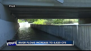 Boise River flows to increase to 6,620 cfs by Tuesday afternoon