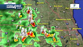 Chance for showers and thunderstorms tonight
