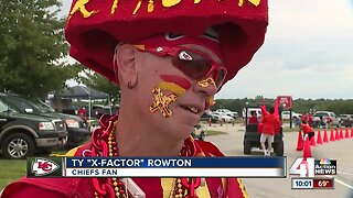Chiefs fans take preseason tailgating to the max