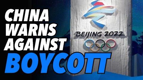 China warns West to NOT boycott Beijing 2022 Winter Olympics