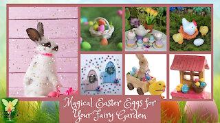 Teelie's Fairy Garden | Magical Easter Eggs for Your Fairy Garden | Teelie Turner