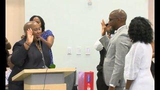 New Riviera Beach leadership sworn in
