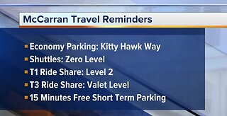 Tips for air travel from Las Vegas