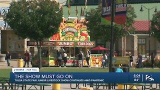Tulsa State Fair Junior Livestock Show continues amid pandemic