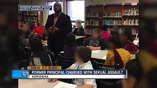Former Kenosha Principal charged with sexual assault