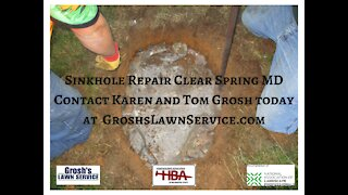 Sinkhole Repair Clear Spring MD Landscaping Contractor