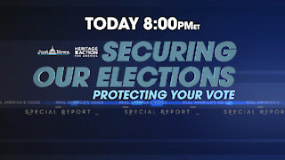 SECURING OUR ELECTION - PROTECTING YOUR VOTE