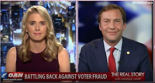 The Real Story - OANN Election Integrity with Tommy Hicks