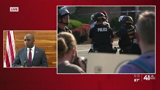 Police make arrest at Tuesday protest