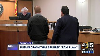 Driver pleads guilty in fatal crash that spurred 'Pam's Law'