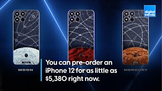 The $6000 iPhone 12 Space Edition