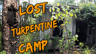 Tidewater Ghost Town and Old Turpentine Camps Explore!!!