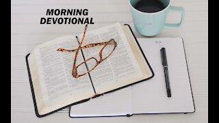 Morning Devotional for November 18, 2020