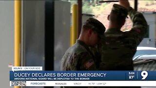 Ducey declares emergency, deploys Arizona National Guard to border