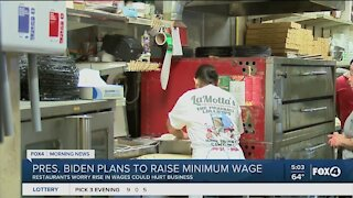 President Biden plans to raise minimum wage workers not happy
