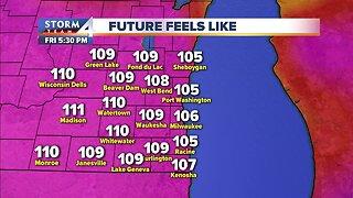 Heat advisory starts Friday morning