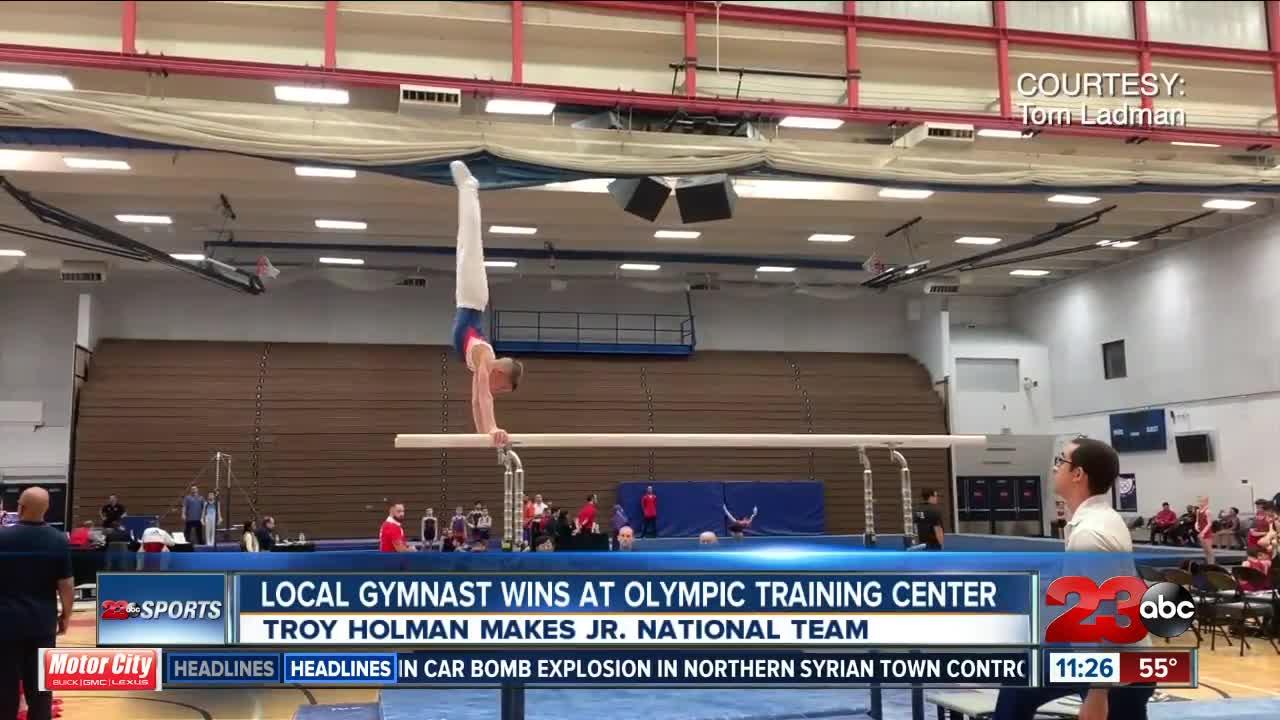 Local gymnast wins big at Olympic Training Center