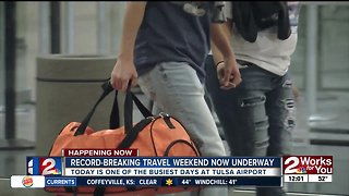 Tulsa Airport expecting more holiday travelers than last year