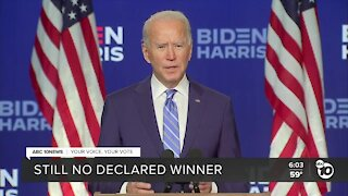 Political expert reacts to Biden leads in 2 key states