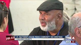 Man thanks St. Matthew's House for new life for Christmas
