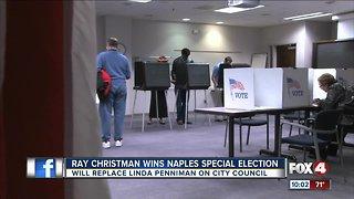 Christman wins Naples city council special election