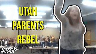 Concerned Parents Disrupt Utah School Board Meeting To End Mask Mandates