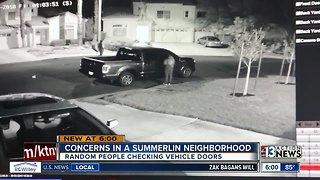 Concerns in a Summerlin neighborhood