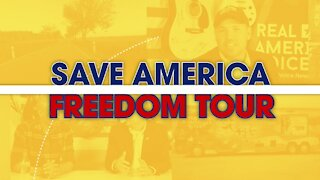 Amanda Head and Ben Bergquam on Pt. 2 of the Save America Freedom Tour