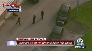 Boynton Beach High on lockdown