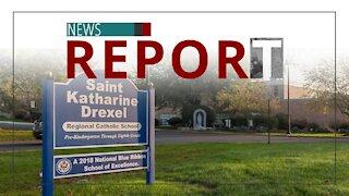 Catholic — News Report — Masking Students