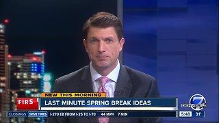 Spring break road trip ideas