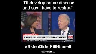 Biden Didn't Kill Himself #BidenDidntKillHimself