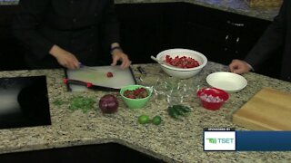 Shape Your Future Healthy Kitchen: Strawberry Salsa