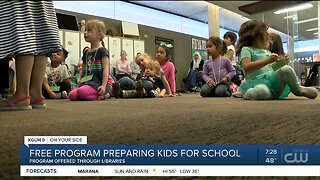 Free library program helps prepare children for their first time in the classroom