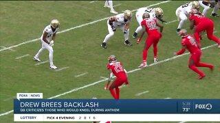 Drew Brees facing backlash over response to kneeling during National Anthem