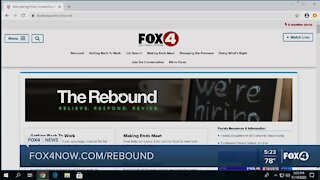 FOX4 Rebound provides resources for local assistance