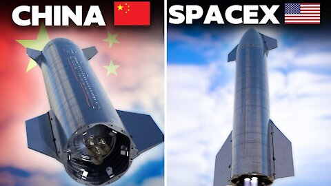China Keeps COPYING SpaceX With It's NEW Starship Clone!