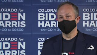 Full interview with Doug Emhoff as he campaigns for Biden-Harris in Colorado