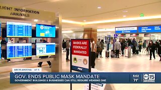 Local leaders react after Gov. Ducey ends public mask mandate
