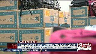 Tulsa Public Schools' Indian Education Program provides free school supplies to Native American families