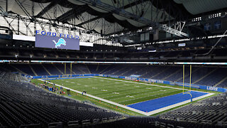 Preparations underway at Ford Field
