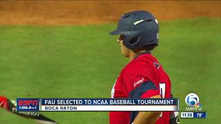 FAU Baseball selected to NCAA Tournament