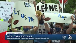 Anne Arundel County parents upset about decision not to play recreation football
